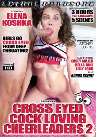 Cross Eyed Cock Loving Cheerleaders 2