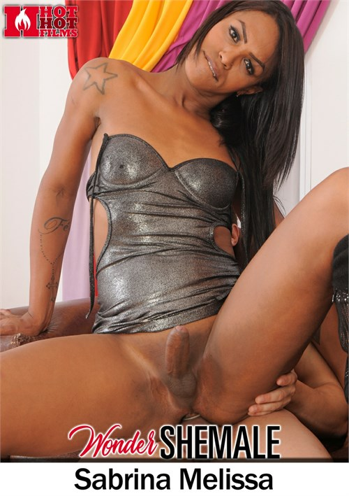 Petite Ebony Shemale Gets Hard Anal and Cums