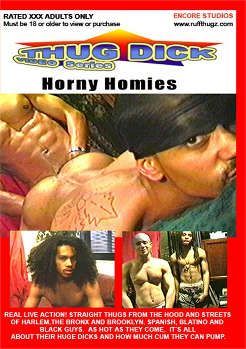 Horny Homies Boxcover