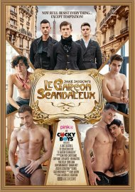 Le Garcon Scandaleux gay porn DVD from CockyBoys.