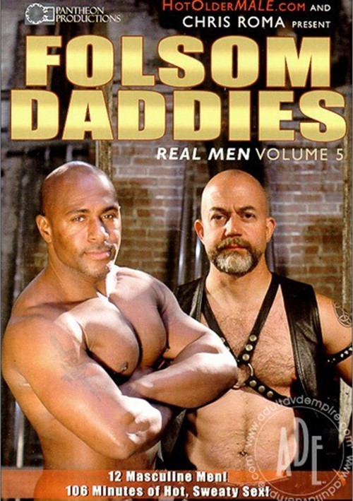 Real Men 05 Folsom Daddies Cover Front