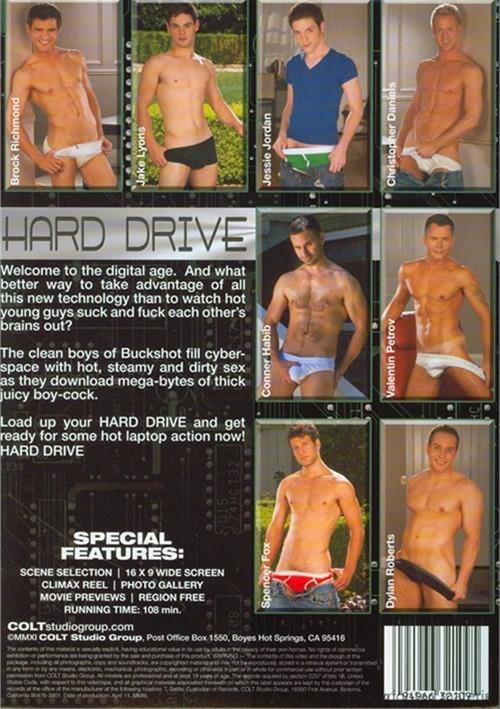 Hard Drive Cover Back