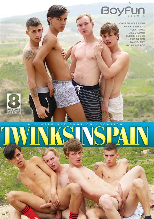 Twinks in Spain Boxcover