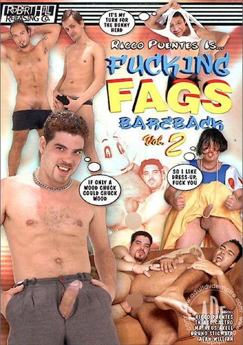 Fucking Fags Bareback Vol. 2 Boxcover