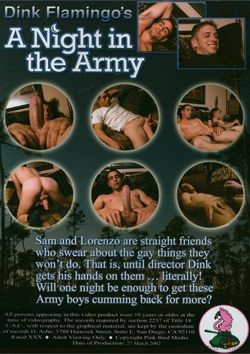 A Night in the Army Cover Back