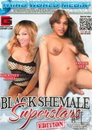 Black Shemale Superstars Porn Video