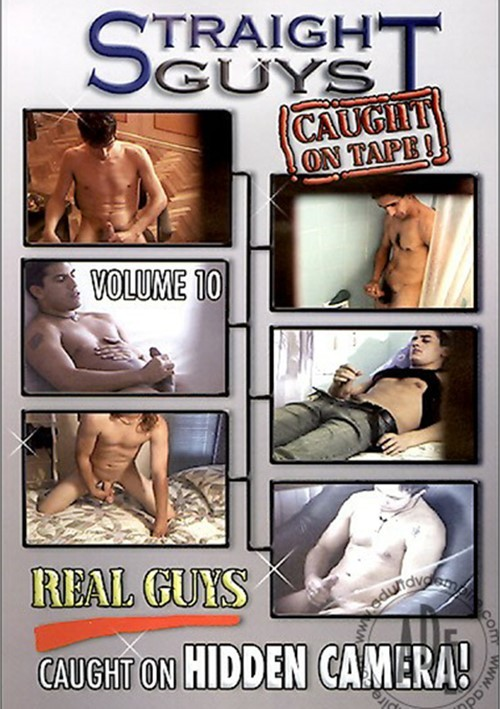Straight Guys Caught On Tape! Vol. 10 Boxcover