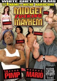 Midget Fucking Mayhem: 'Lil Pimp Vs. Mario Porn Video