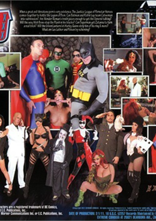 Justice League film porno