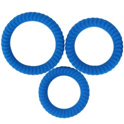 Ram Ultra Cocksweller - Blue 3 pack Sex Toy