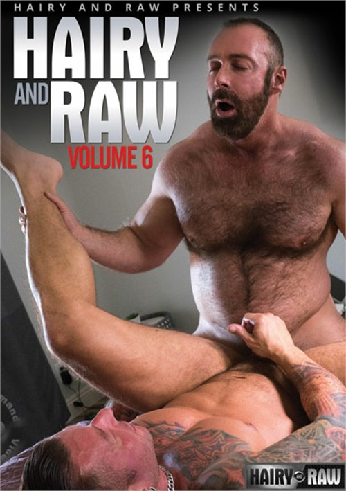 Hairy and Raw Vol. 6 Boxcover
