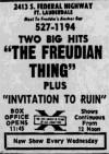 Freudian Thing, The Boxcover