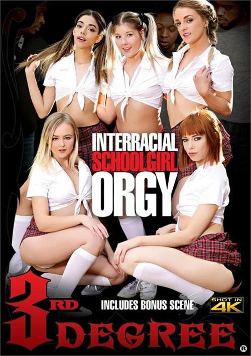 Interracial Schoolgirl Orgy