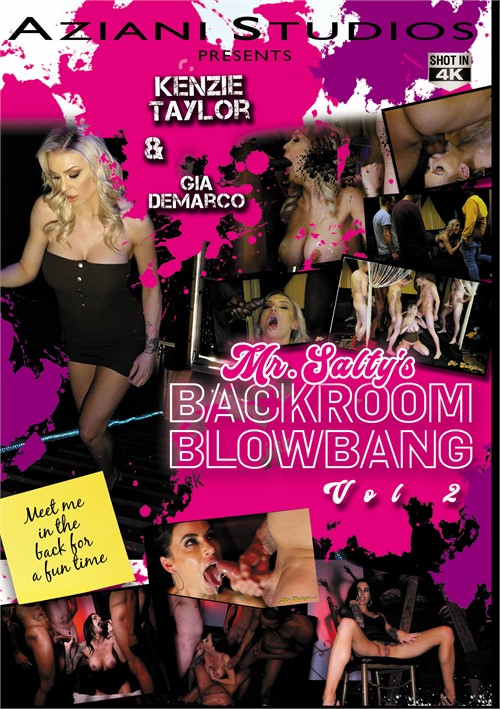 Mr. Salty's Backroom Blowbang Vol. 2