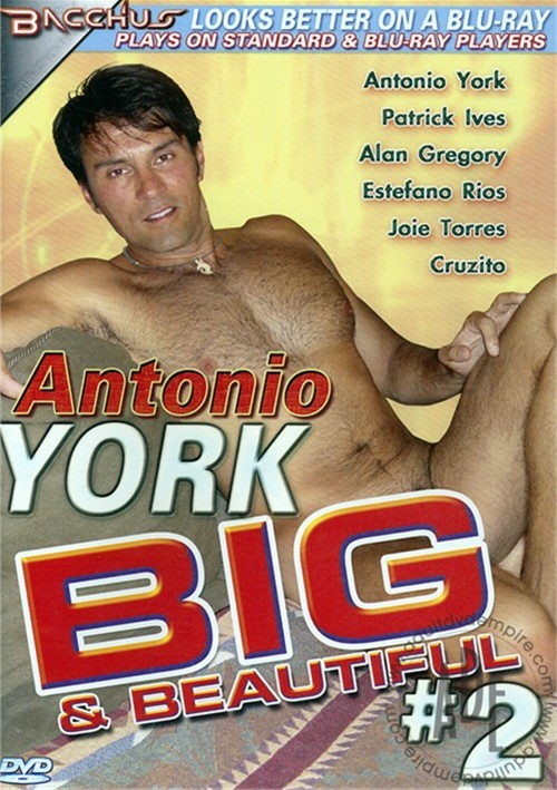 Antonio York: Big & Beautiful #2 Boxcover