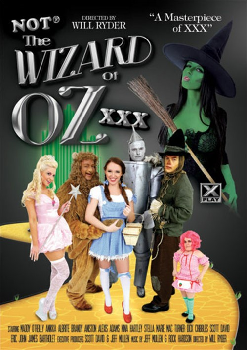 Not The Wizard Of Oz XXX Boxcover