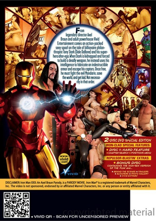 Iron Man XXX: An Axel Braun Parody Boxcover