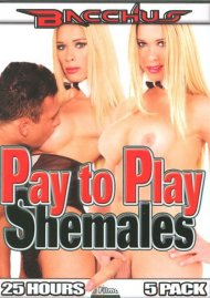 Pay To Play Shemales 5-Pack Movie