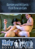 Damien and William's First Time on Cam Boxcover
