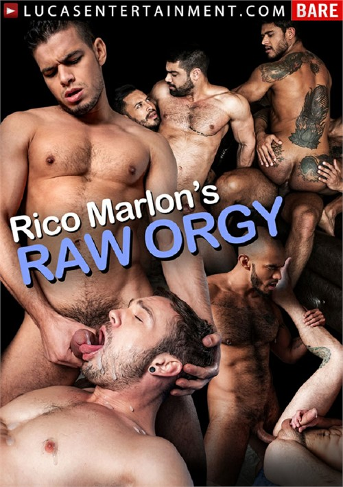 Rico Marlons Raw Orgy Cover Front
