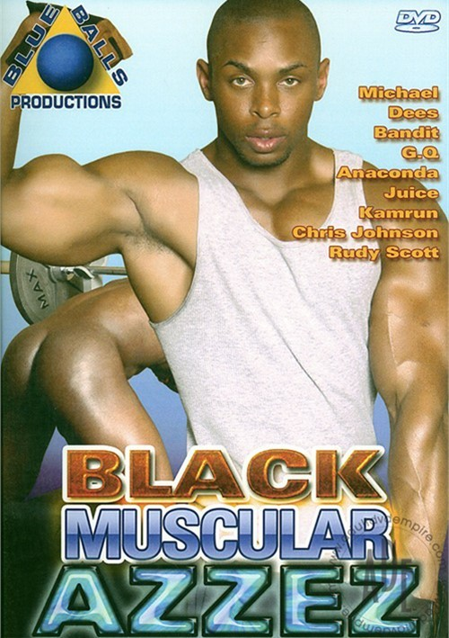 Black Muscular Azzez Boxcover