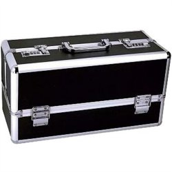 Lockable Sex Toy Storage Case - Black - Large Sex Toy