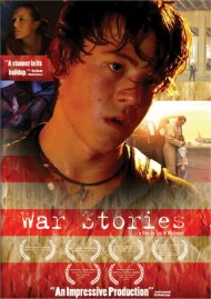 War Stories gay cinema DVD from Uncheckable Films.