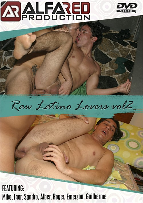Raw Latino Lovers Vol. 2 Boxcover