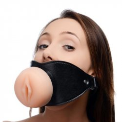 Master Series: Pussy Face Mouth Gag