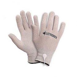 Shots Bold Electroshock E Stimulation Gloves - Grey Sex Toy