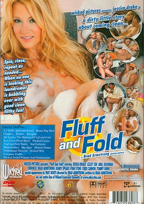 Back cover of Fluff And Fold