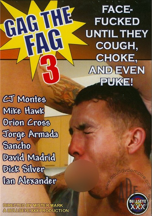 Gag the Fag 3 Cover Front