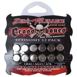 Crossbones - Alkaline LR44  Batteries - 12 pack Sex Toy