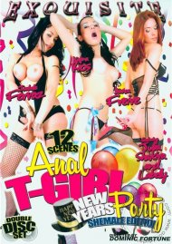 Anal T-Girl New Years Eve Party Porn Video