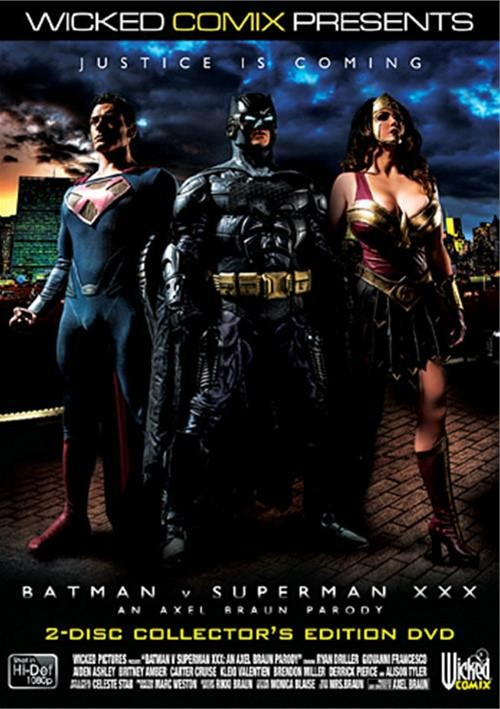 Batman V. Superman XXX: An Axel Braun Parody Boxcover