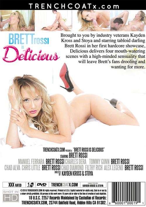 Brett Rossi Is Delicious Boxcover