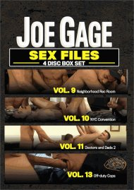 Joe Gage Sex Files Vol. 9, 10, 11 & 13 image