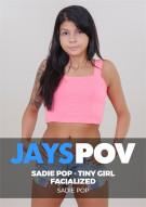 Sadie Pop - Tiny Girl Facialized Porn Video