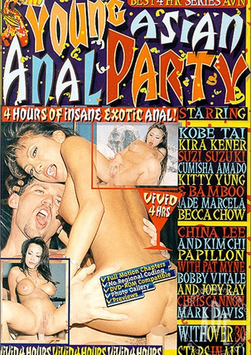 Young Asian Anal Party