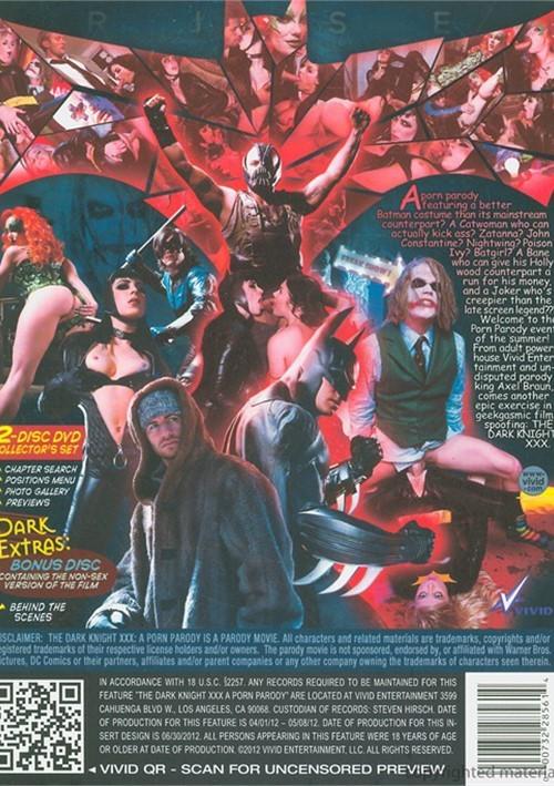 Dark Knight XXX: A Porn Parody, The Boxcover