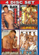 Black Men Fuckin 4-Pack Gay Porn Movie
