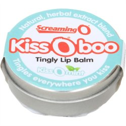 Kiss O Boo Tingly Lip Balm - Peppermint