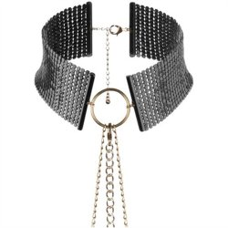 Bijoux Indiscrets: Desir Metallique Collar - Black