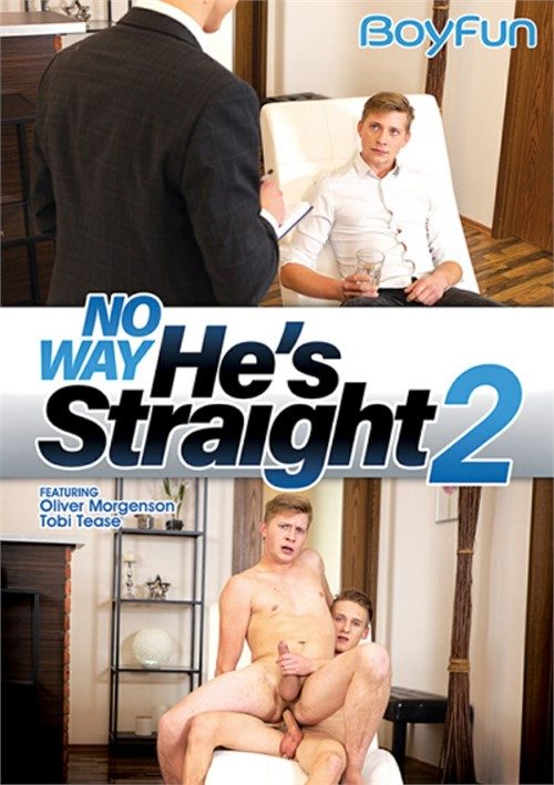 No Way Hes Straight 2 Cover Front