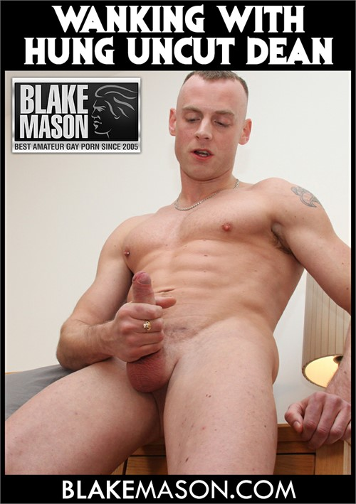 Wanking with Hung Uncut Dean Boxcover