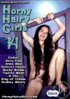 Horny Hairy Girls 14 Boxcover