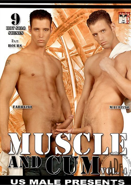 Muscle and Cum Vol. 4 Boxcover