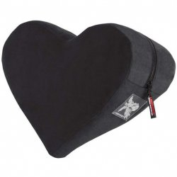 Liberator Heart Wedge - Black Sex Toy