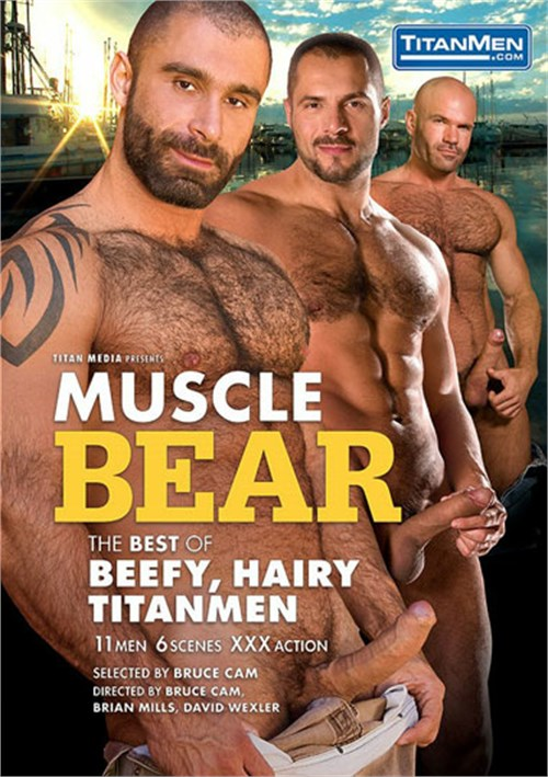 Muscle Bear The Best of Beefy Hairy TitanMen Cover Front