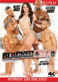 Blacked Out 10 DVD porn movie from Devil's Film.